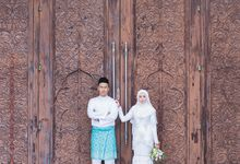 Solemnization of Asyraf & Nina by Qalbugraphy