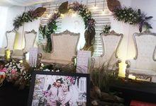 Dekorasi Pernikahan Dihalaman by Ar decor
