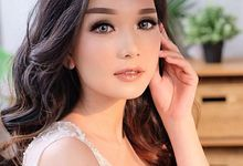 Makeup for bride by Pansytann