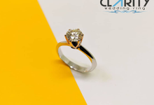 Diamond Ring Solitare CBS10455 by Clarity Jewellery