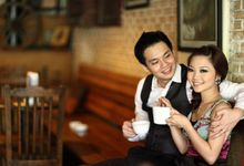 Eunice and Edwin pre wedding and her lil' famz shoot by Pristine al L'umiere Melbourne