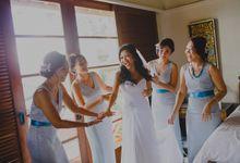 Bride and Bridesmaids by AKALIKA