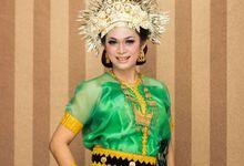 Prawedding - Bugis combine with Minang culture by Prima Elisa