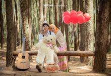 Dioba & Puput Prewedding by Hits Photobooth