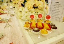 Wedding Of Nando and Christine  - Tables Snack by Je'lemons pastry