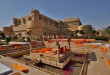wedding at jaisalmer by Yesha Weddings Destination Wedding Planner