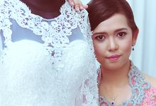 wedding of Sari & Andy by UKETSUKEART
