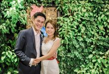 Wedding of Shane & Melissa @ Halia at Singapore Botanic Gardens by The Halia