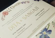 Dita & Sangaji Wedding Invitation by Premium Card