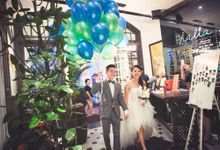 Wedding of Hsing Yang & Megdeline @ Halia at Raffles Hotel by The Halia