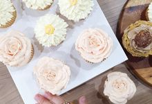 dessert table treats by The Rosette Co