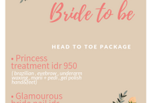 Bride to be head to toe package by Elegant Nail Indonesia