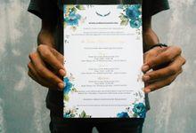 The Wedding of Tessa & Taufik by Mejikpot