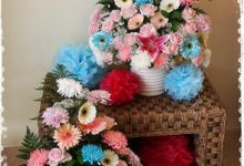 Flower for Wedding Stage Decoration by Ste Florist