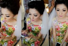 Jhony & Shanty Wedding by Marcelline Vony MUA
