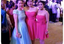 Bridesmaid dresses by MARIA NATHALIE