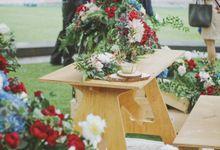 Chanel and Thomas by O'hara Weddings