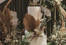 The wedding of Rhesa & Friany by sugarbox patisserie