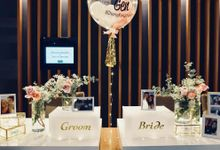 Ervin & Gen - Minimalist Reception by Lily & Co.