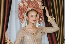 Pengantin Minang - Suntiang Rose Gold by Zia Brides Make Up Artist & Kebaya
