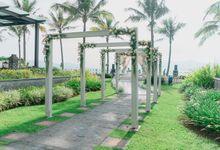 Decoration outdoor Ketapang Indah Hotel by semutdecor