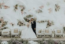 Compilation of White Themed Wedding by Skenoo Hall Emporium Pluit by IKK Wedding