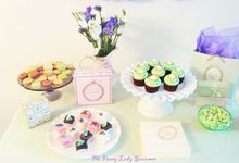 Laduree themed dessert table by Fancy Paperie