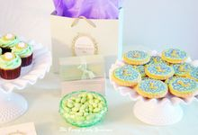 Laduree themed dessert table by Fancy Paperie
