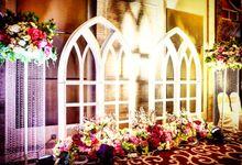 The Wedding Of Febri & Christine by Bleubell Design