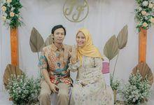 The Engagement of Fika amd Fajar by Arkarna Design