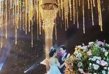 The wedding of Erni & eric by sugarbox patisserie