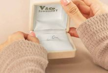 Diamond Ring DR001740 by V&Co Jewellery