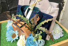 Rustic Ice Blue by House of Raline Wedding Hampers