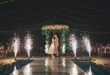 Andrew & Desty Wedding day by Varawedding