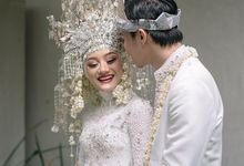 The Wedding of Dinda and Rey by Azila Villa