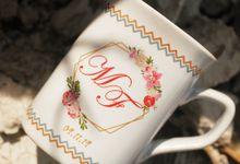 MUG NESCAFE DESAIN WEDDING FACHARYAN & MIRIANA by Mug-App Wedding Souvenir