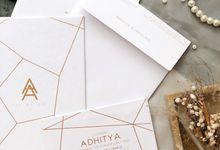 THE WEDDING OF ADHITYA & ANGELIKA by SentimeterCard