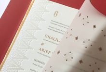 Ghalila & Arief by Duarana Design & Finery