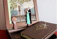 3 Dimensional Wedding Invitation by Icreation