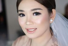 Wedding of Michael & Velicia by Reginapangmakeup