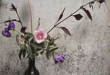 Flower arrangement  by Gempita Deco