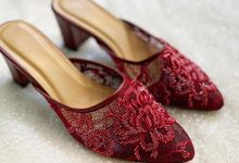 RED WEDDING SHOES by UNIFICATIO