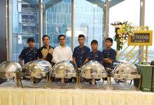 Pernikahan di Gedung Plaza BP Jamsostek by Steggo Catering Indonesia