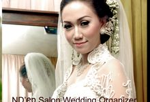 The Wedding of Friska & Anton by N'Den Salon & Wedding Organizer