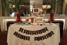 Hedric and Serene by The Lair Weddings Candy Bar