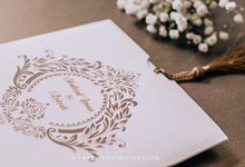 The Wedding Of Shahrul Iman & Azizah by Tapestry Invitation