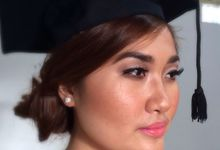 Graduation Makeup by Calenia Letitia Makeup Artist