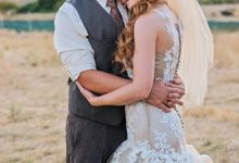 Rustic vintage wedding bliss by Anna Perevertaylo Photography