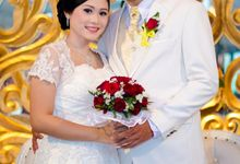 THE WEDDING of KRISTIAN & wife by FB PHOTOGRAPH