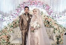 The Real Wedding of Yana & Enjang by Kejora Gift & Souvenir